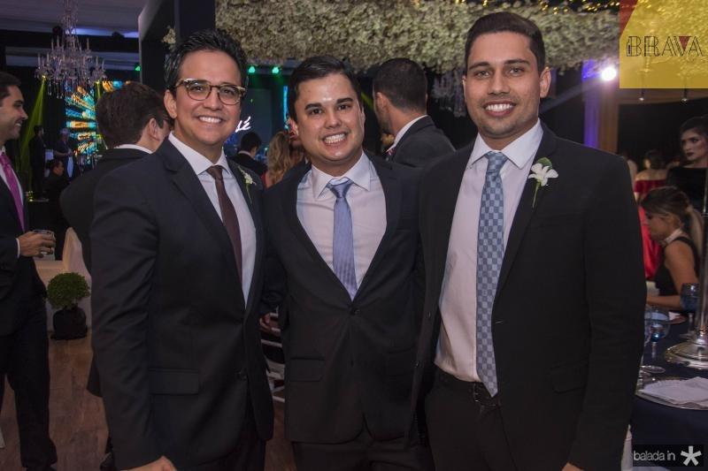 Panta Neto, Ricardo de Freitas e Olavio Egydio