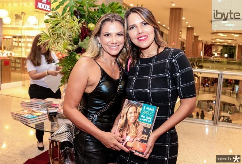 Vanessa Queiros e Ana Carolina Bezerra
