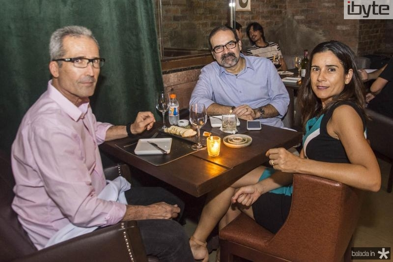 Joao Carlos, Bosco Couto e Solange Lima