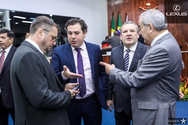 Jose Leite, Samuel Dias, Jaime Cavalcante e Adail Fontenele