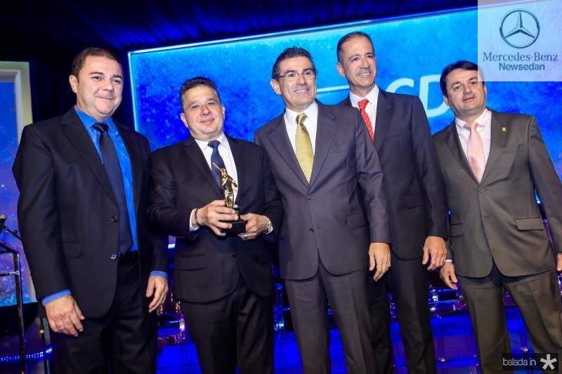 Elizeu Barros, Gerado Bastos Filho, Alexandre Pereira, Regis Medeiros e Benigno Junior