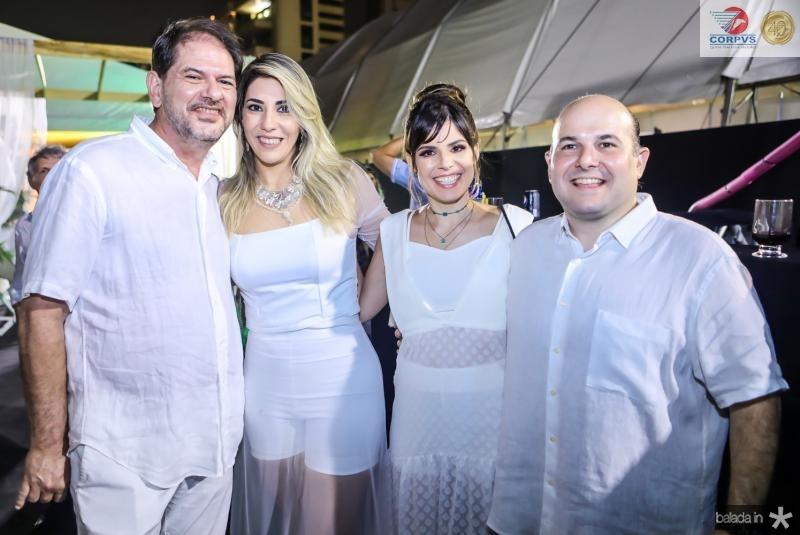 Cid e Maria Celia Gomes, Carol e Roberto Claudio Bezerra