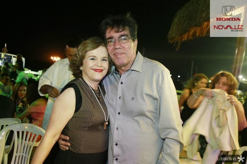 Cristiana e Roberto Costa Lima