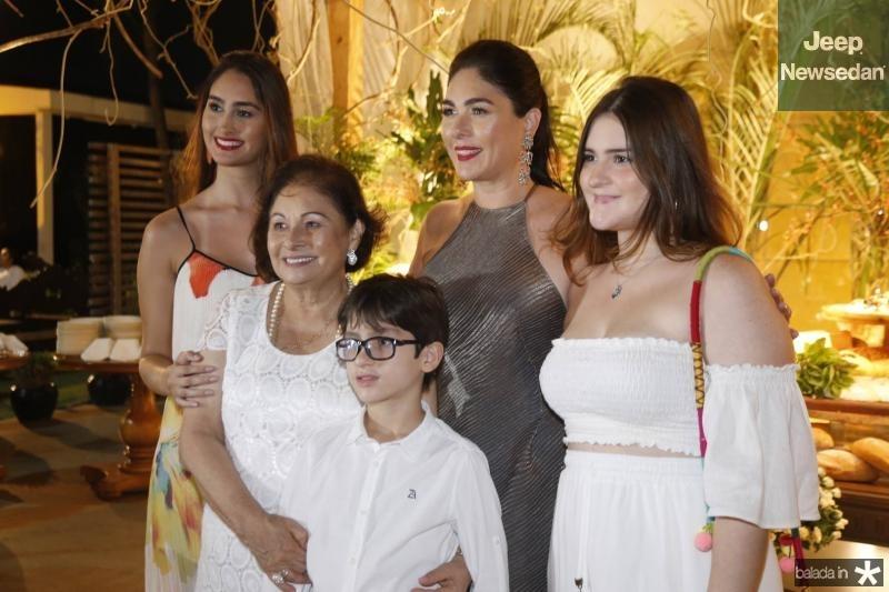 Fernanda, Auridea, Pedro, Izabela e Marina Fiuza 2
