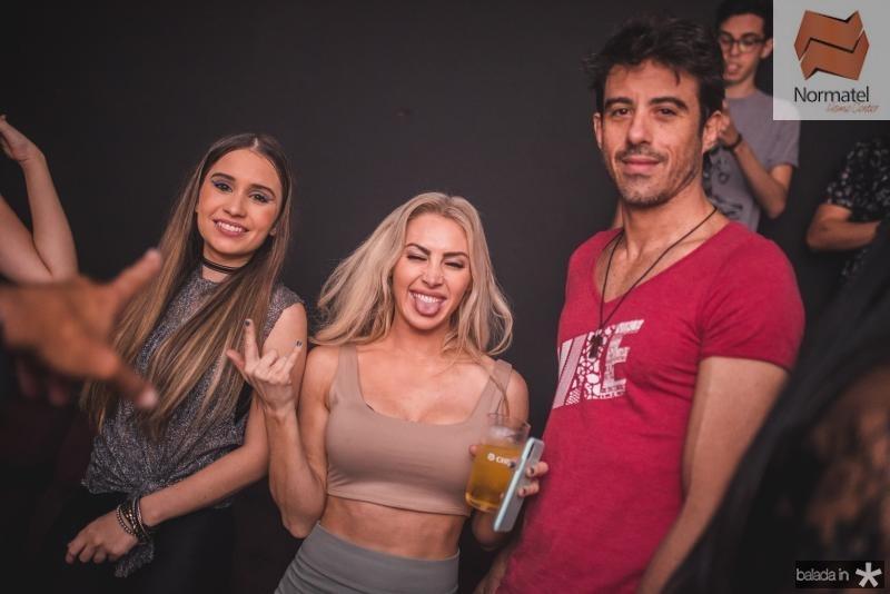 Luciana, Heder e Thiago Oliveira