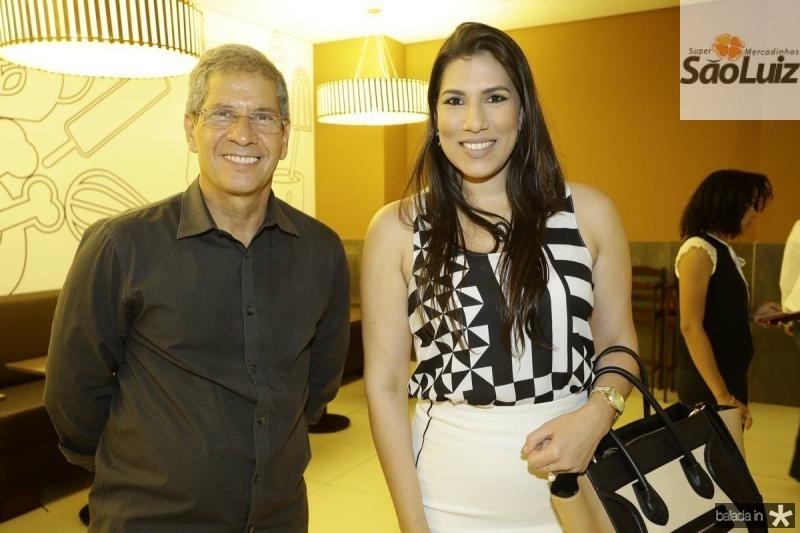 Severino Neto e Natalia Fernandes