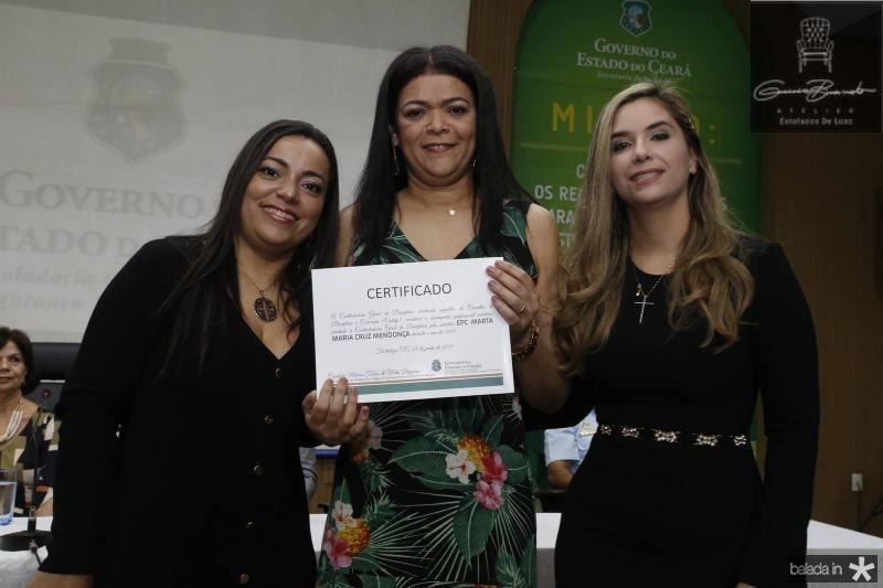 Luciana Costa, Marta Mendonca e Juliana Albuquerque
