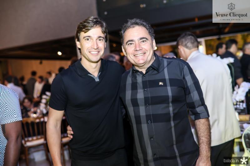 Rodrigo Carvalho e Artenisio Leite
