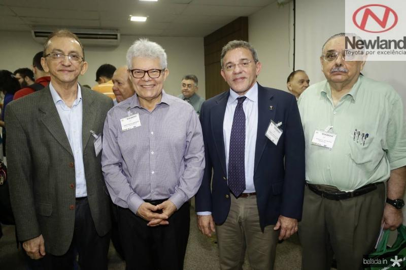 Ivan Moura, Anastacio Queiroz, Erico Arruda e Sergio Gomes