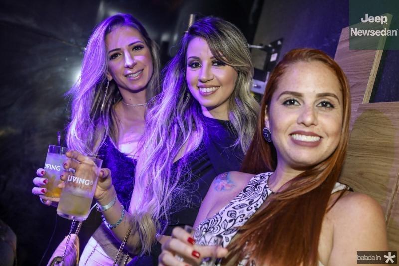 Synara Teixeira, Celma Silva e Raiara Andrade