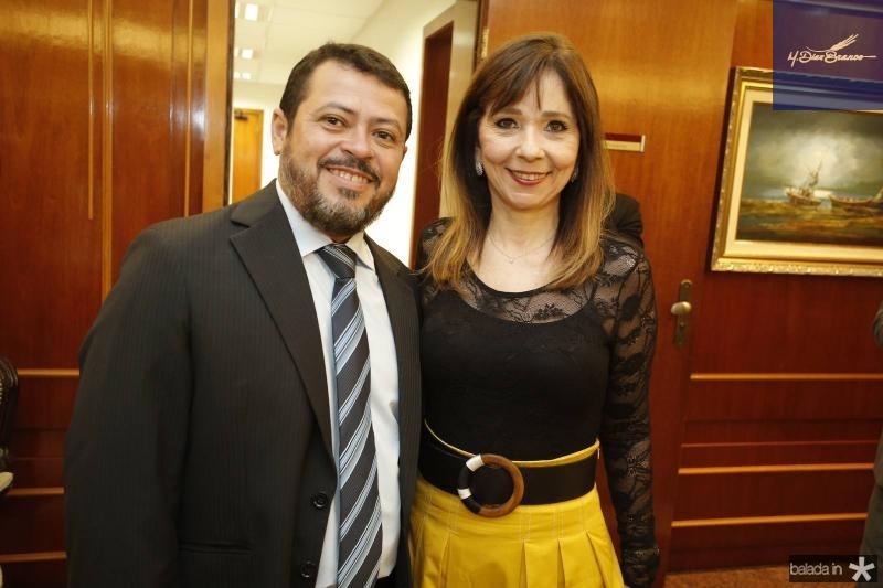 Edivaldo Filho e Camen Ines