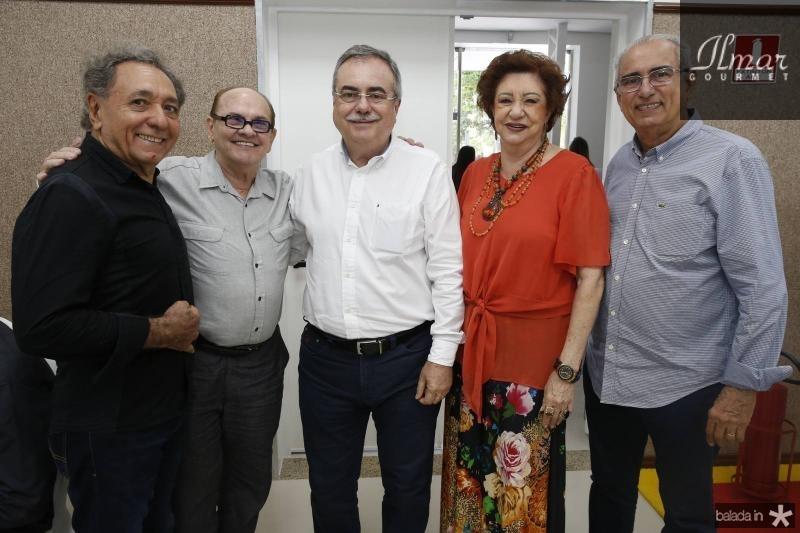 Rogerio Aguiar, Airton Boris, Assis Cavalcante, Maze Campos e Bosco Macedo
