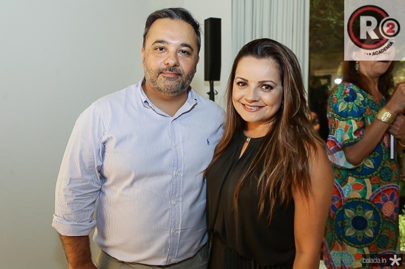 Paulo Siqueira e Kel Oliveira