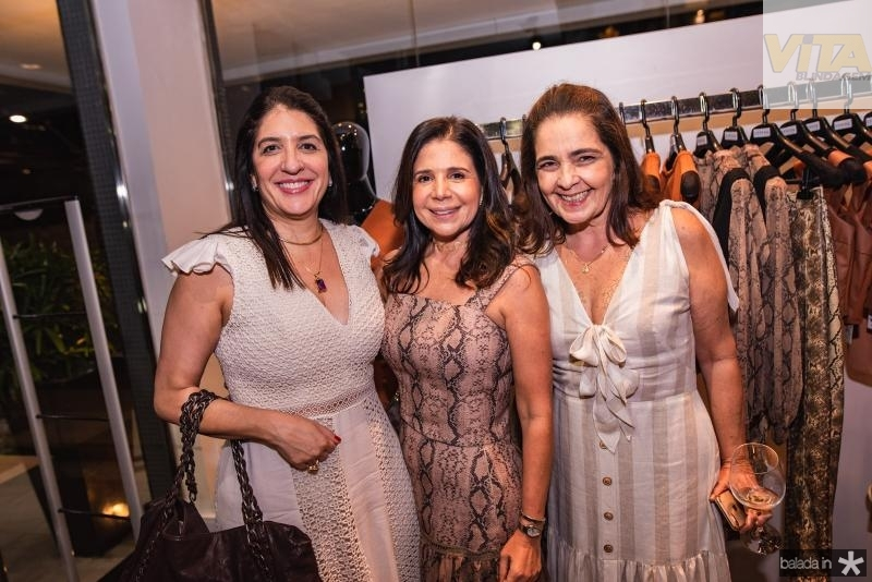 Elisa Oliveira, Maria Lucia Negrao e Giana Studart