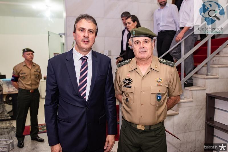 Camilo Santana e GEN Freire Gomes
