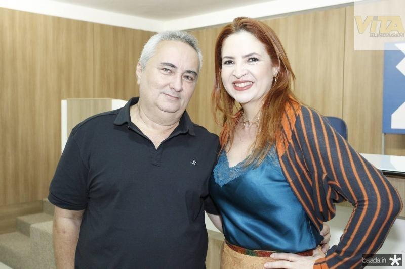 Francisco Pontes e Enid Camara