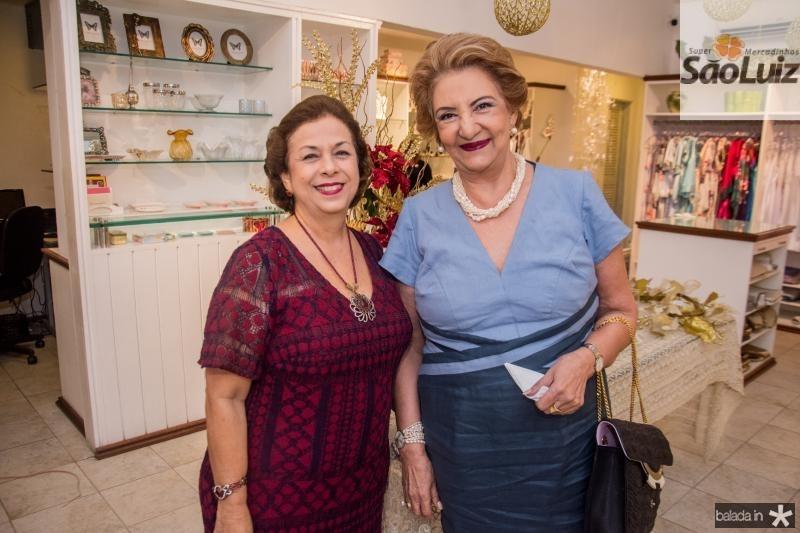 Julia Philomeno e Tereza Borges