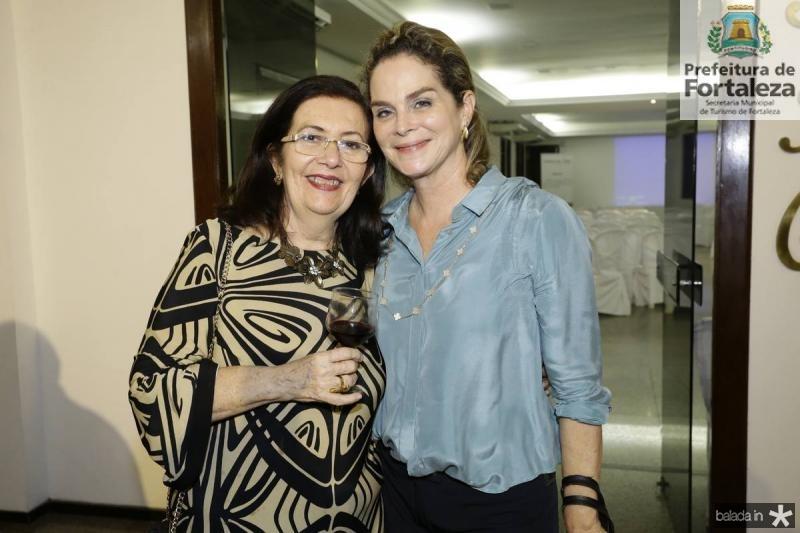 Helena Cavalcante e Jaqueline Mota