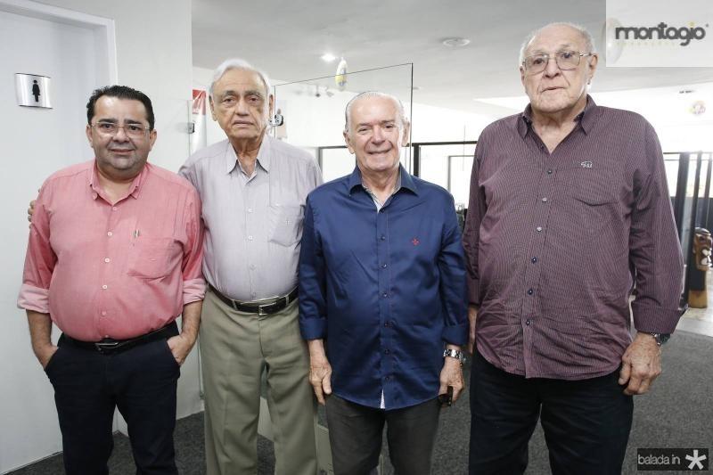Lima Neto, Leorne Belem, Seridiao Montenegro e Luiz Merques