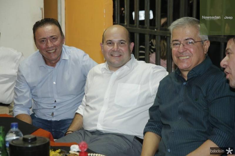 Darlan Leite, Roberto Claudio e PC Noroes