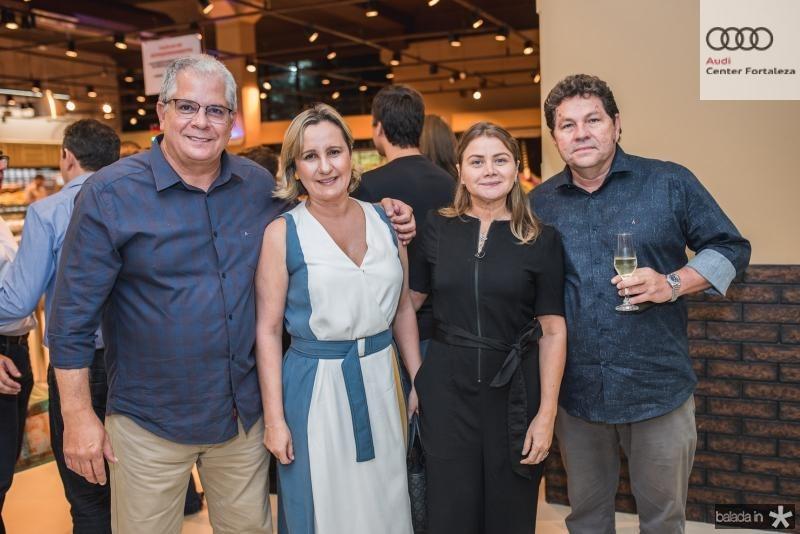 Fernando Ramalho, Ana Ramalho, Socorro e Renan Carvalho