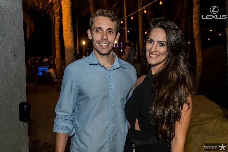 Peter Coleman e Marcela Sobral