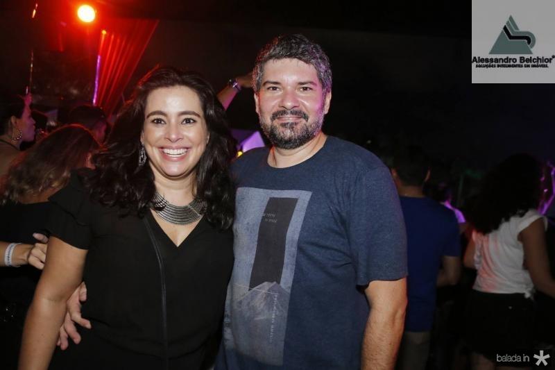Leiliane Bezerra e Fabricio Feijo