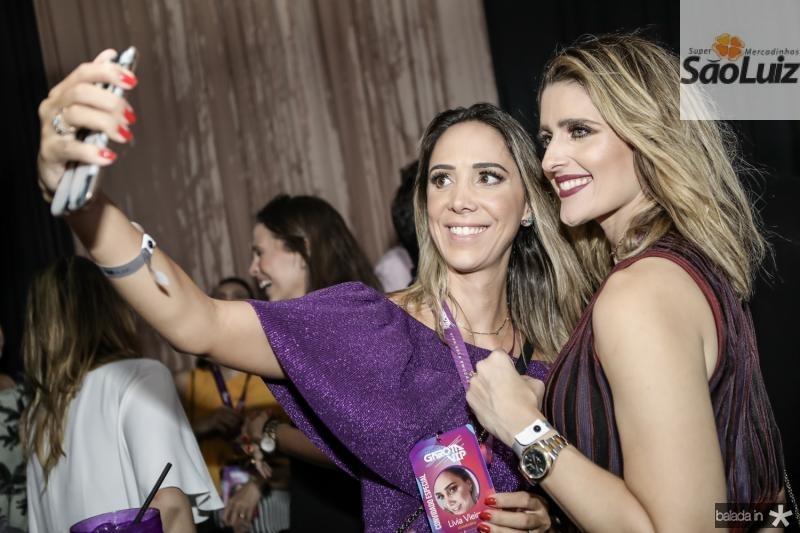 Livia Vieira e Rebeca Leal