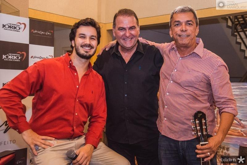 Levi Castelo Branco, Jorio da Escossia e Edmar Goncalves
