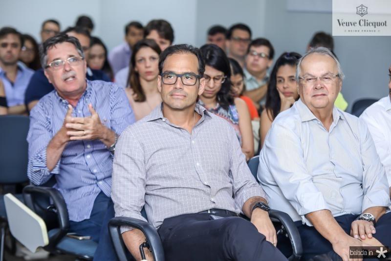 Jose Carlos Gama, Deda Studart e Helio Galisa