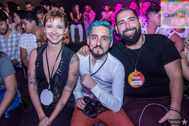 Clara Dourado, Igor Dantas e Luiz Victor Torres
