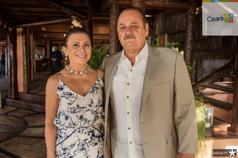 Selma Prata e Antonio Jose Bitar