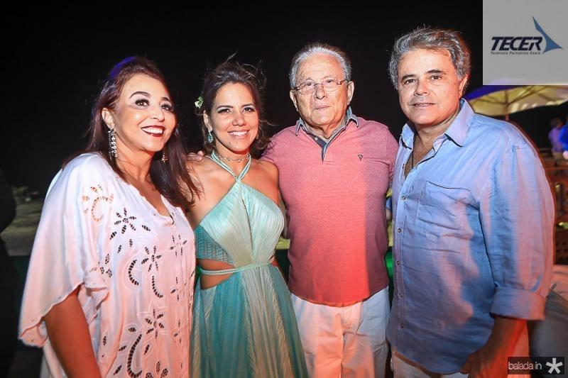 Tania Bezerra, Ana Carolina Fontenele, Ivan e Ivan Bezerra