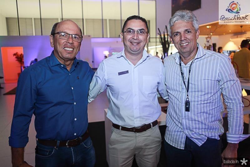 Andre Montenegro, Alexandre Lopes e Marcelo Correa