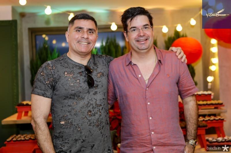 Luciano Vidal e Andre Pires