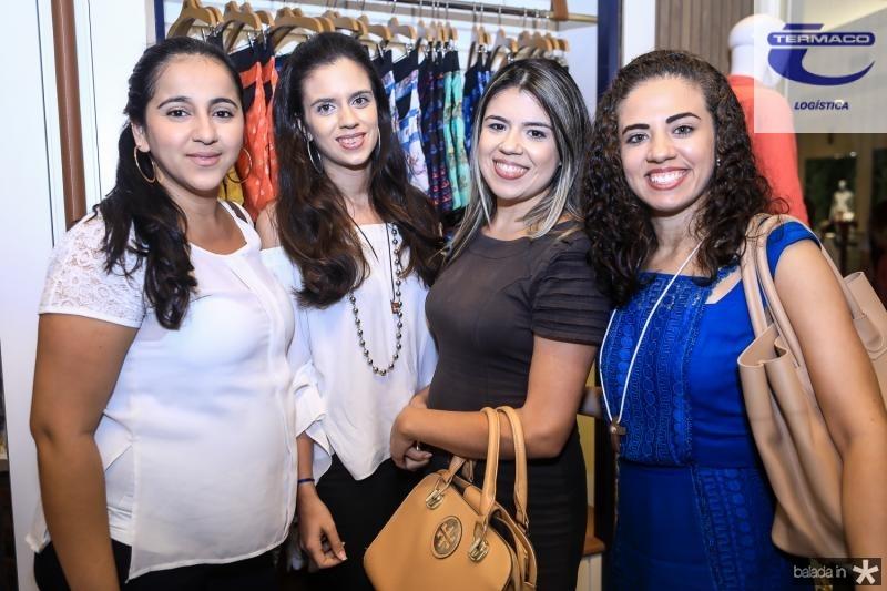 Barbara Luz, Mariana Moreira, Thayane Viana e Manuele Rodrigues