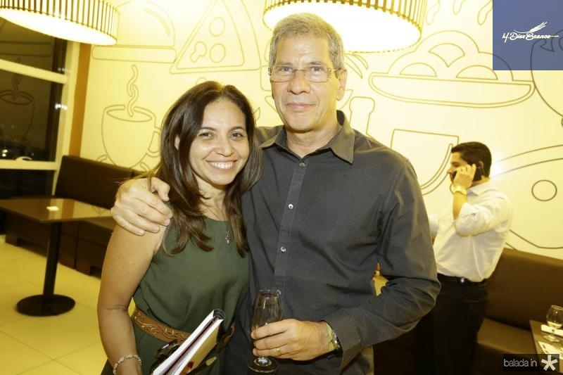 Claudia Marques e Severino Neto