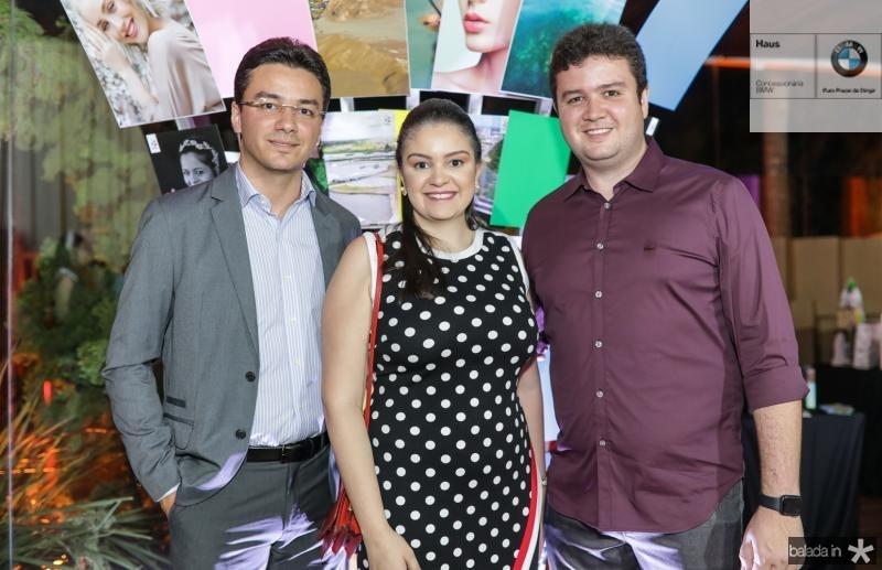 Fernando, Geisa e Antunes Brito