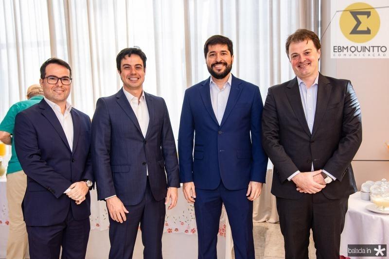 Marco Furtado, Paulo Duarte, Rodolfo Pires e Marcos Prado