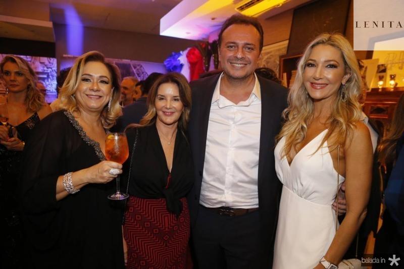 Sarinha Philomeno, Fernanda Mattoso, Adriano Nogueira e Carmen Rangel