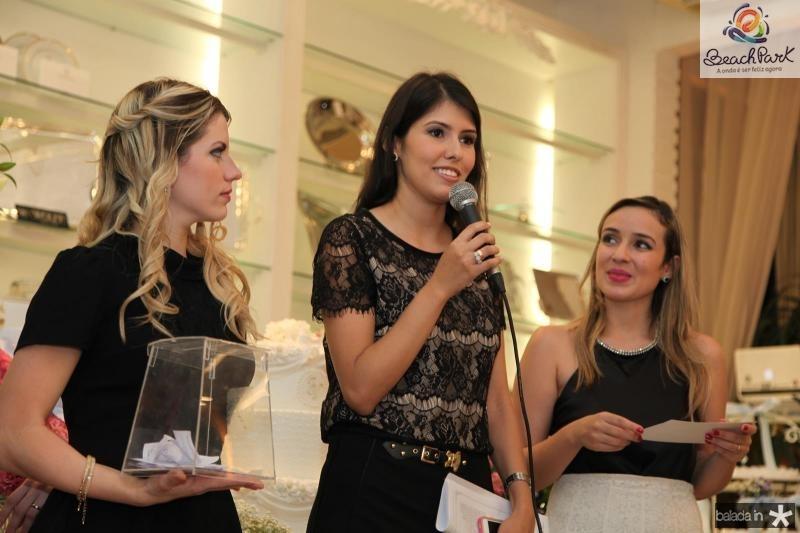 Raquel Macêdo e Vladia Borela
