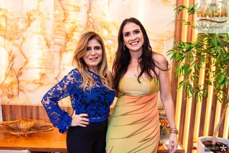 Adelia Albuquerque e Luciana Carioca