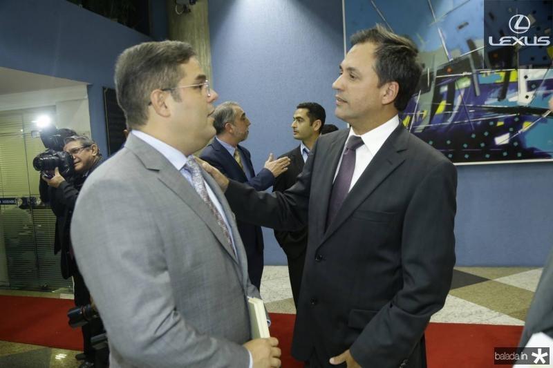 Edson Queiroz Neto e Fernando Novaes