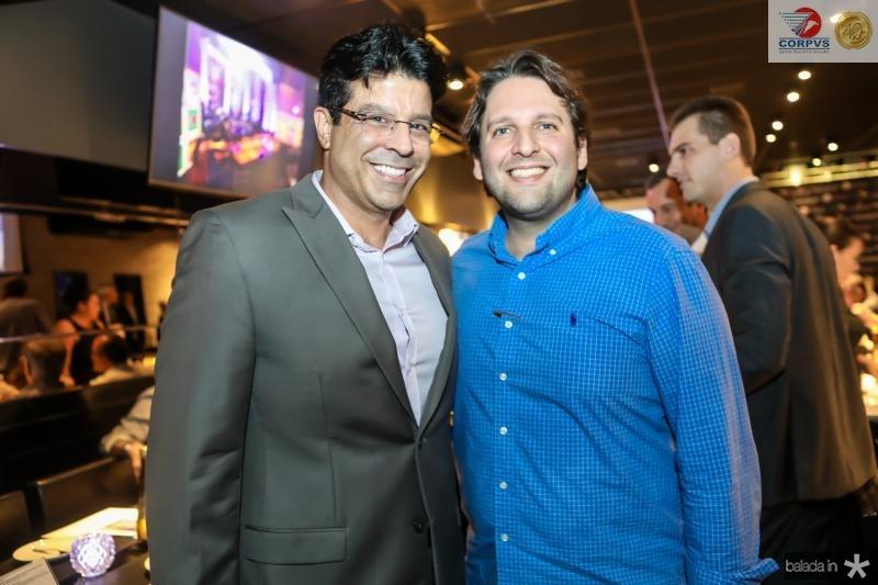 Ronaldo Otho e Daniel Simoes