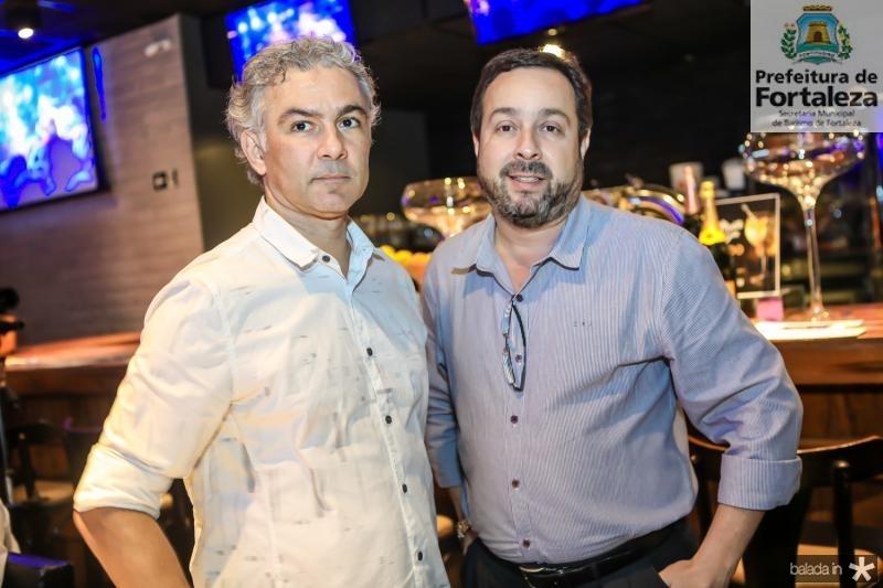 Eduardo Albuquerque e Fernando Bezerra