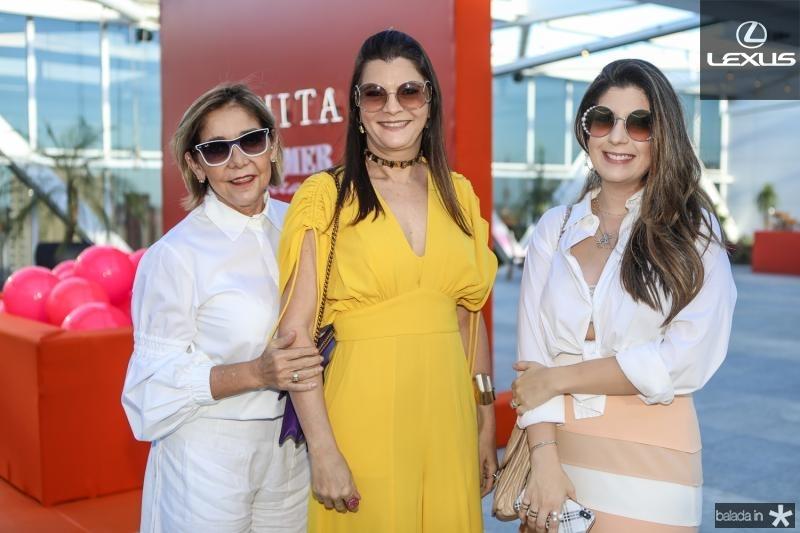 Ines Peixoto, Liliana Farias e Renata Aguiar