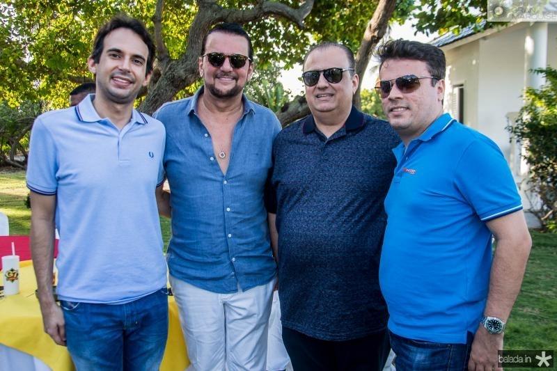 Gaudencio Junior, Adrisio Camara, Max Camara e Marcos Freire