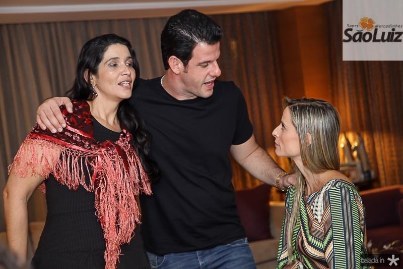 Manuela Ferreira, Eduardo Carneiro e Patricia Lima