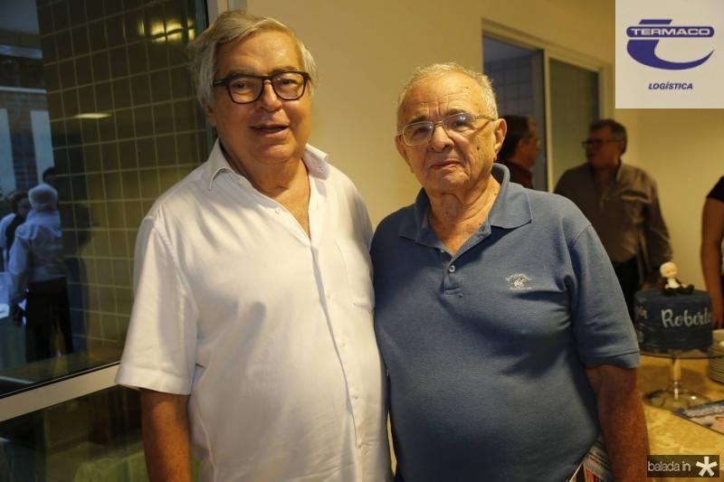 Roberto Farias e Edimo Linhares