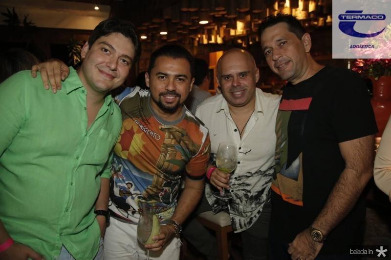 Rosalvo Carneiro, Xande Timoteo, Rogerio Junior e Andre Camurca